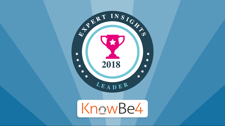 Knowbe4 award expert insights