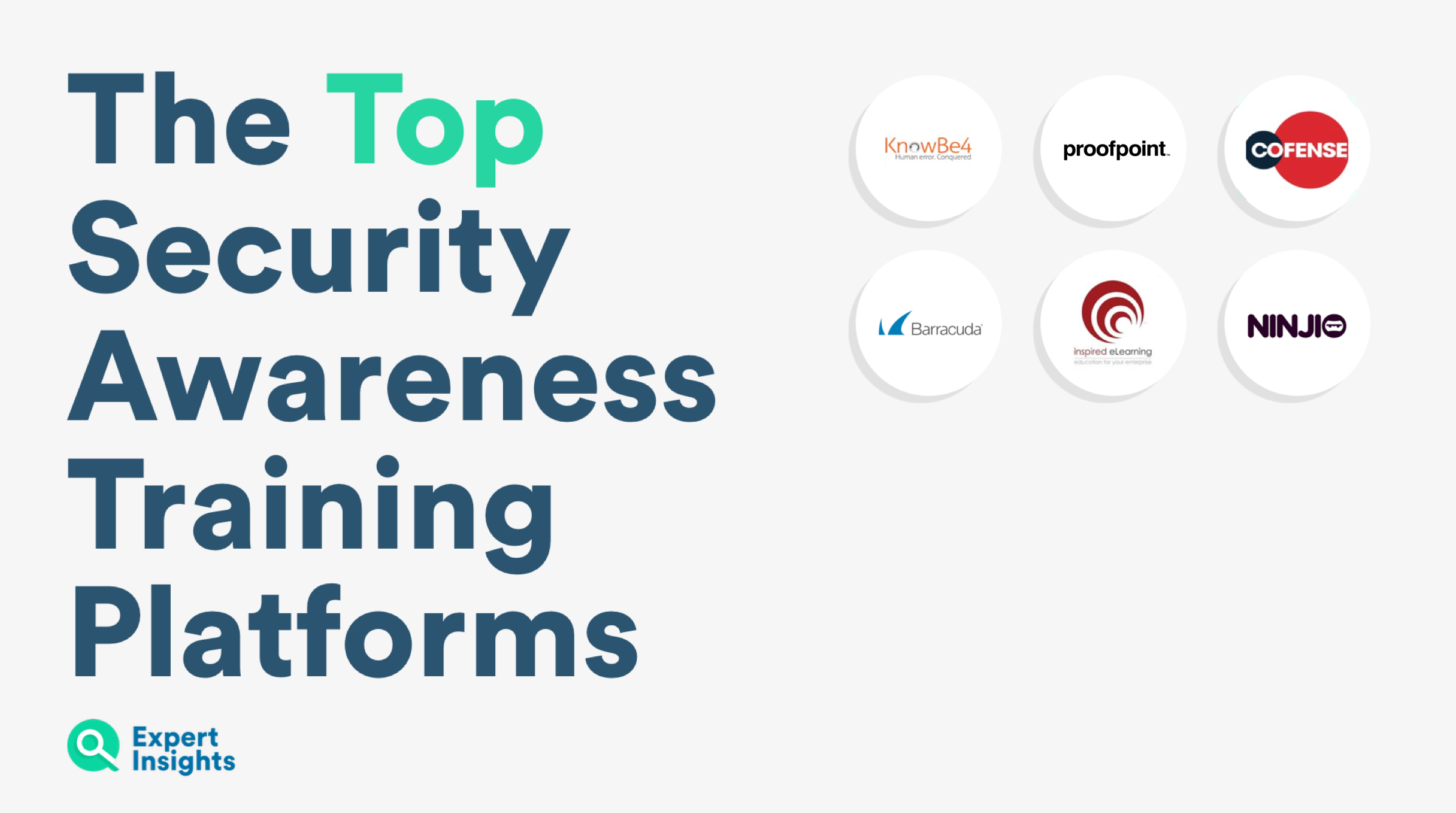 Expert Insights top security awareness training vendors