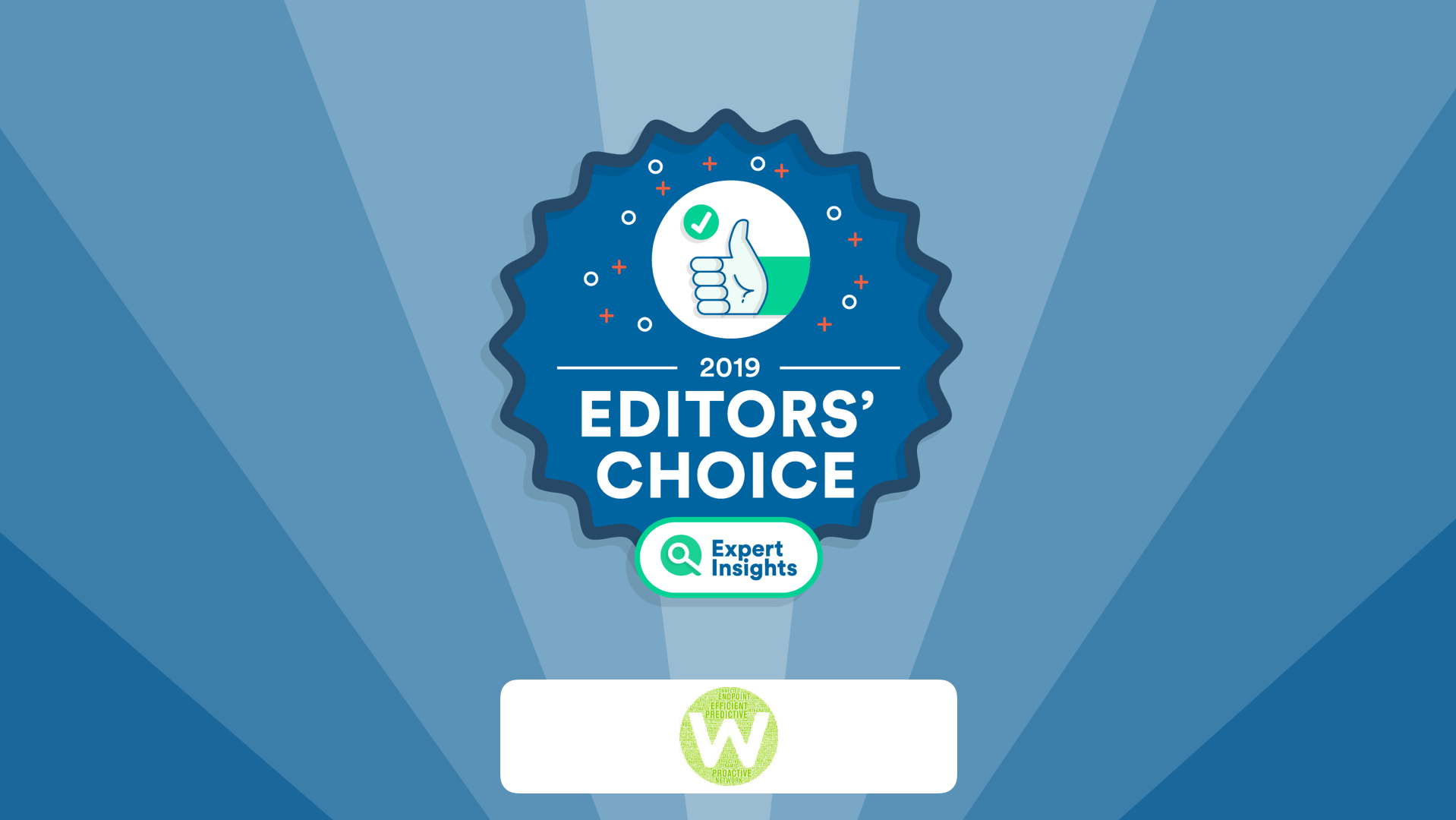 Webroot wins editors choice award