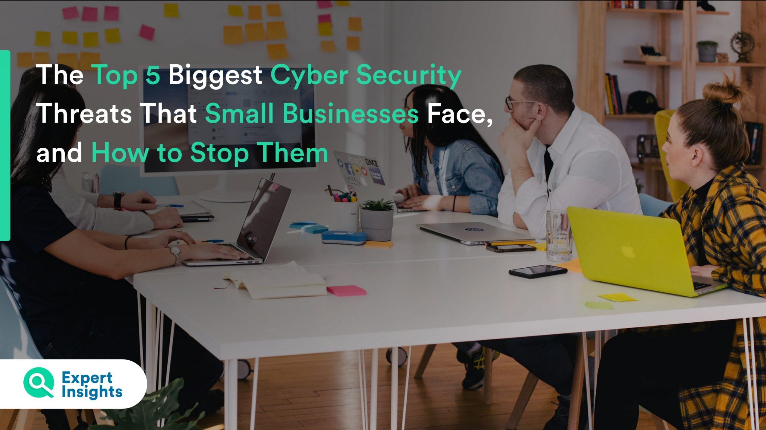 top 5 securty threats facing small businesses