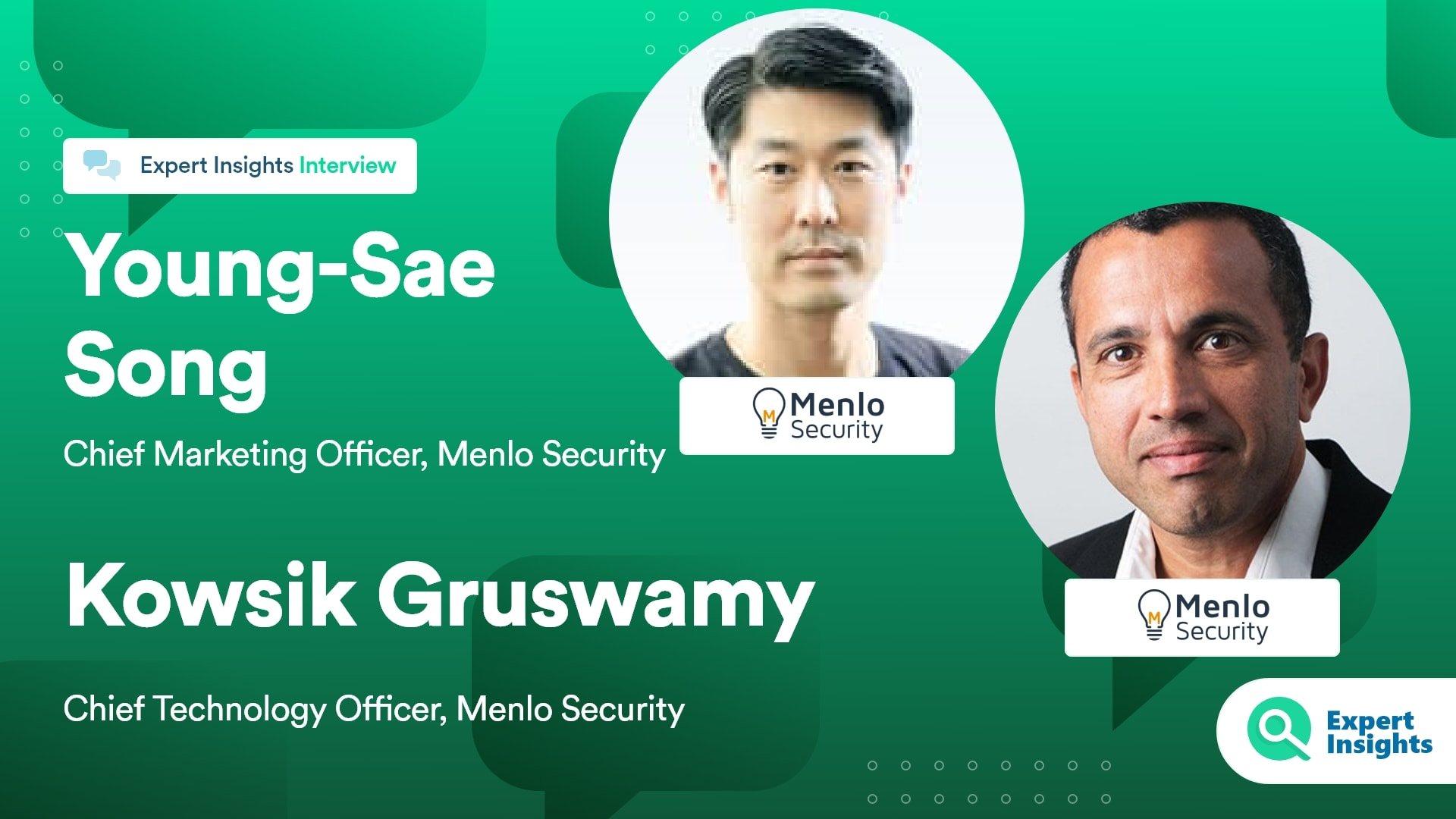 Expert Insights Interview With Song and Gruswamy Of Menlo
