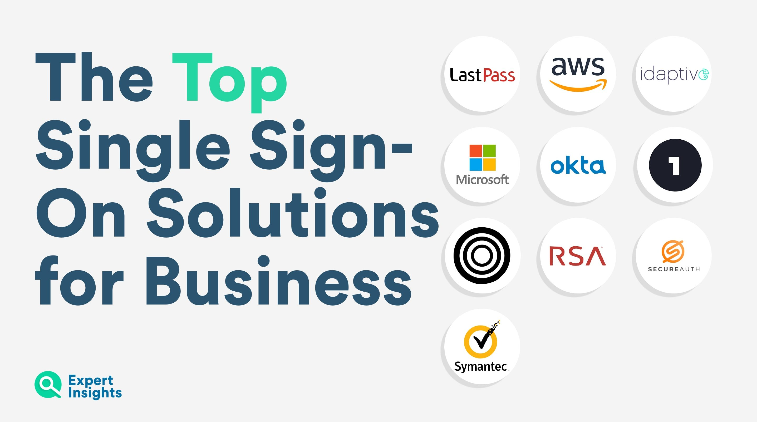 The top single sign on solutions for business - Expert Insights