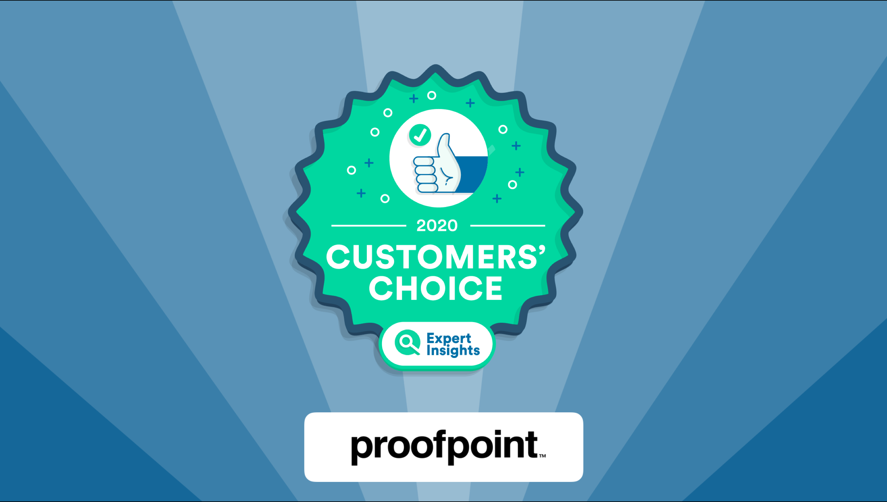 Proofpoint customers choice