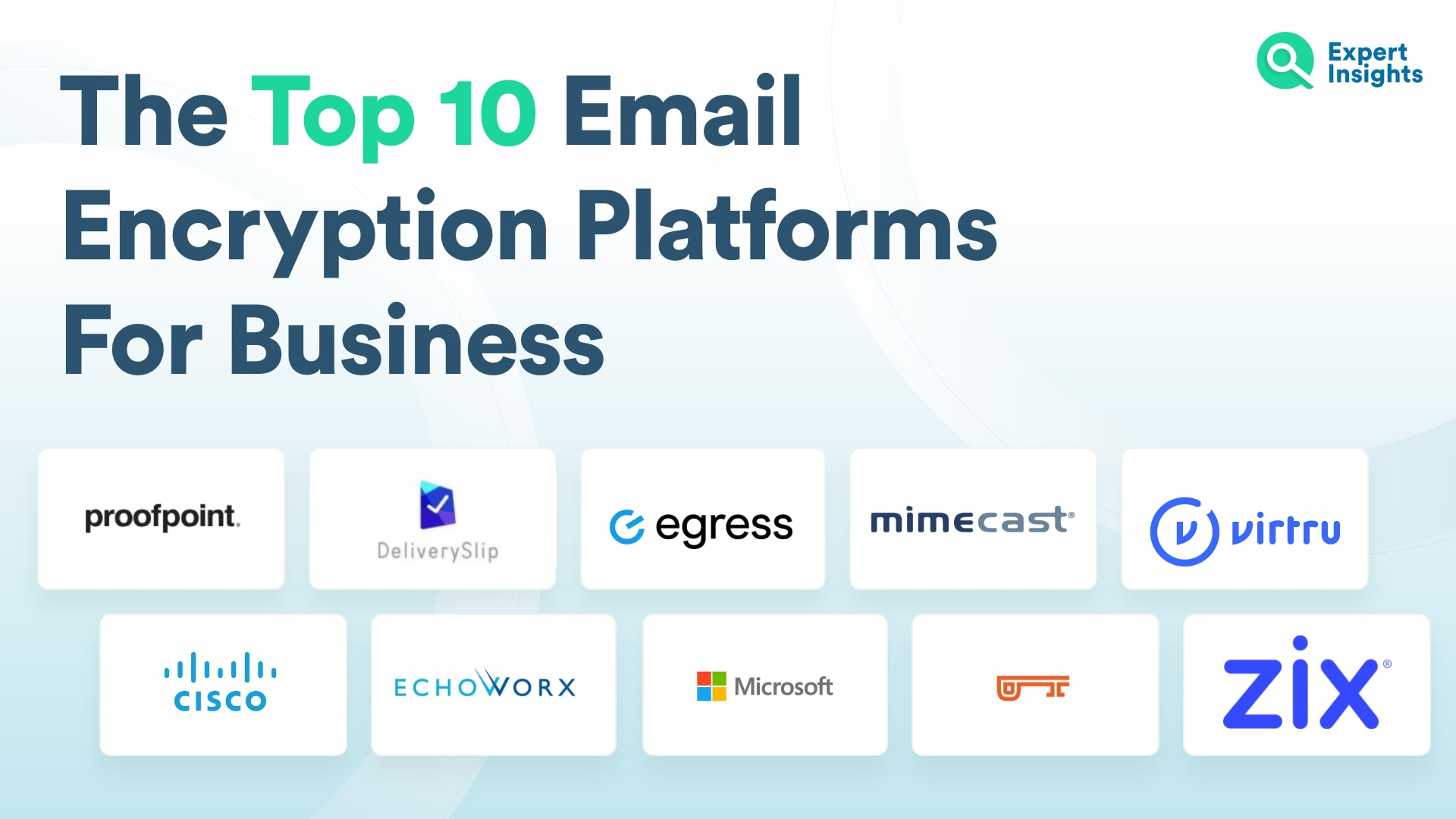 The Top 10 Email Encryption Platforms for Business