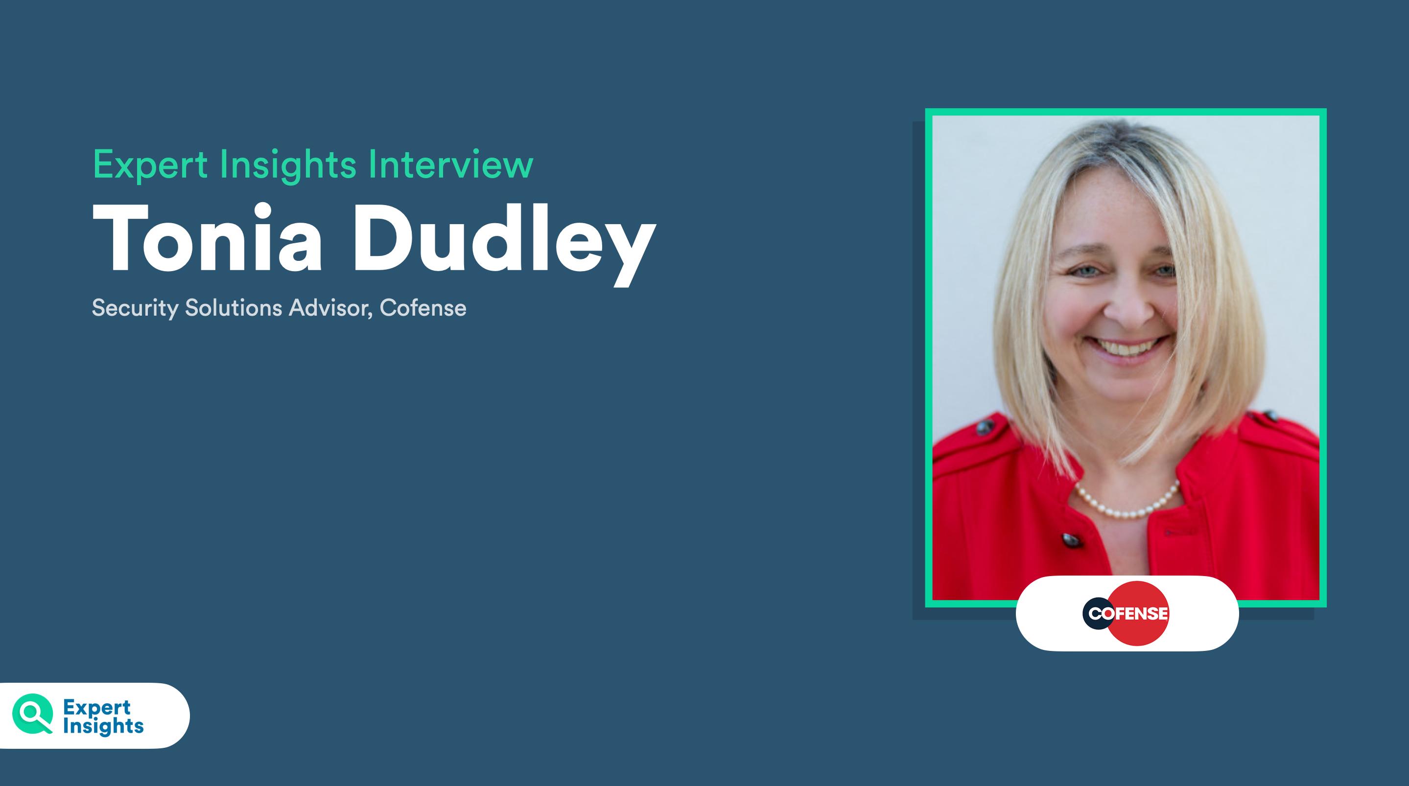 Tonia Dudley, Cofense Interview
