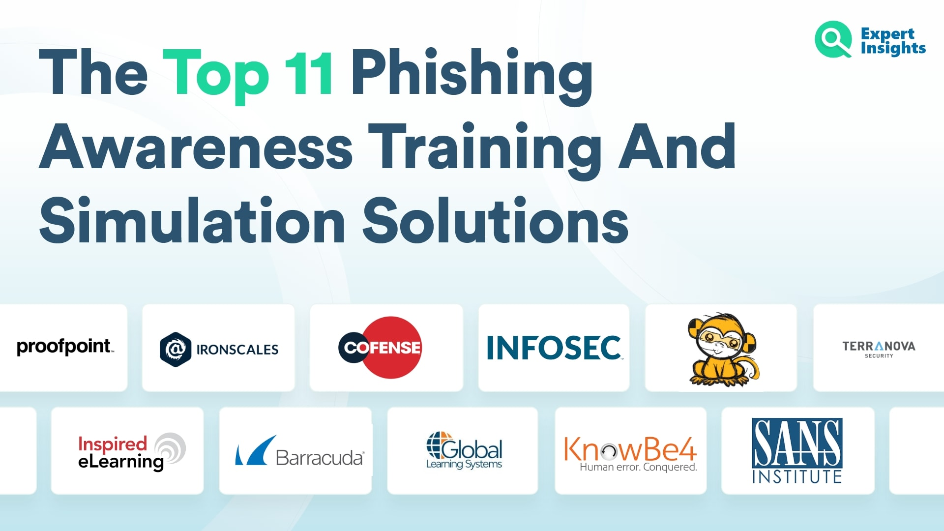 Top 11 Phishing Awareness Traiing And Simulation Solutions - Expert Insights