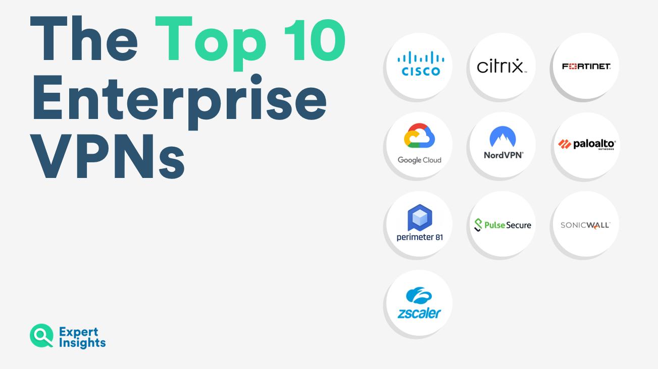 The Top 10 Enterprise VPNs - Expert Insights