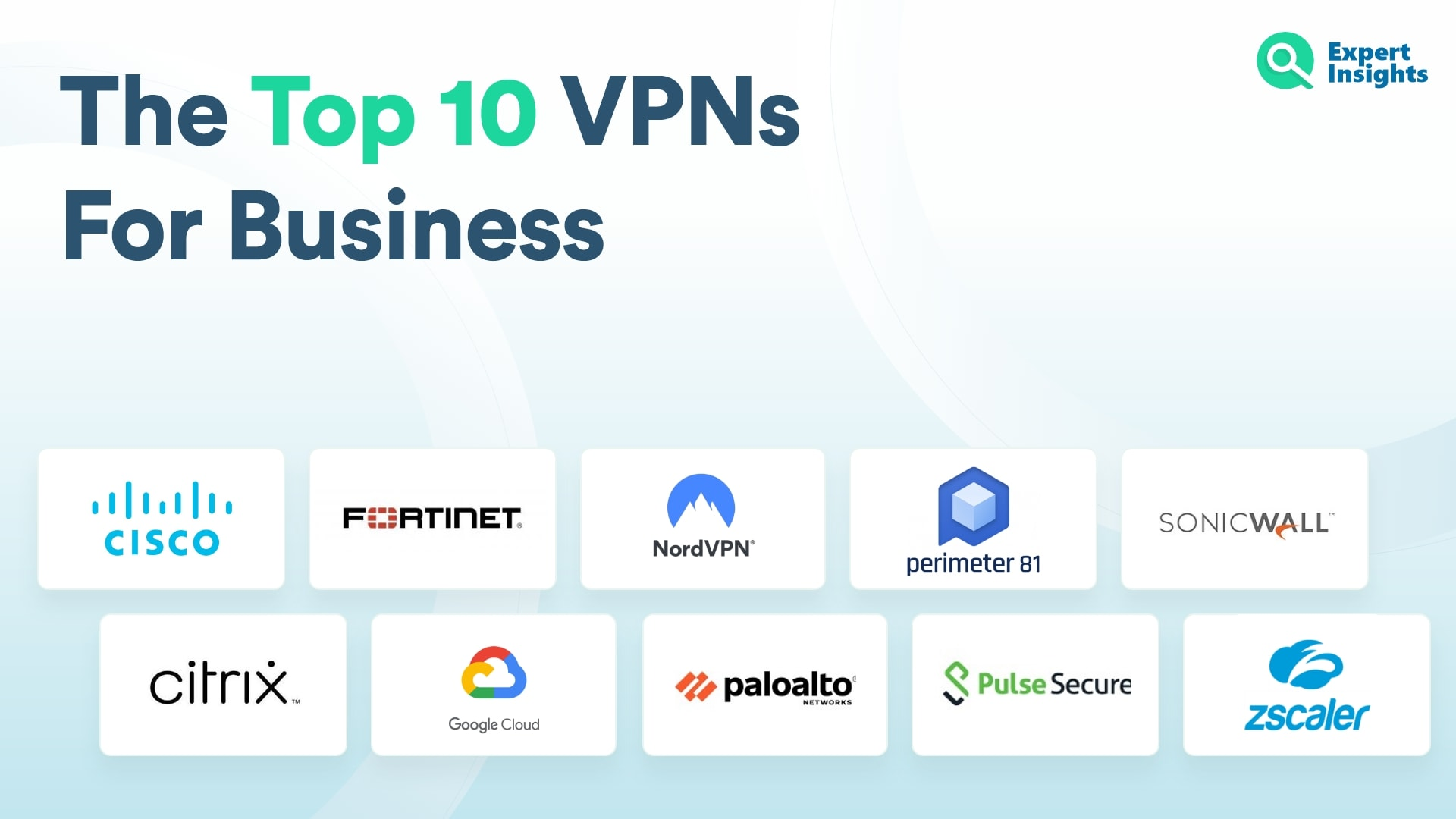 The Top 10 VPNs For Business - Expert Insights