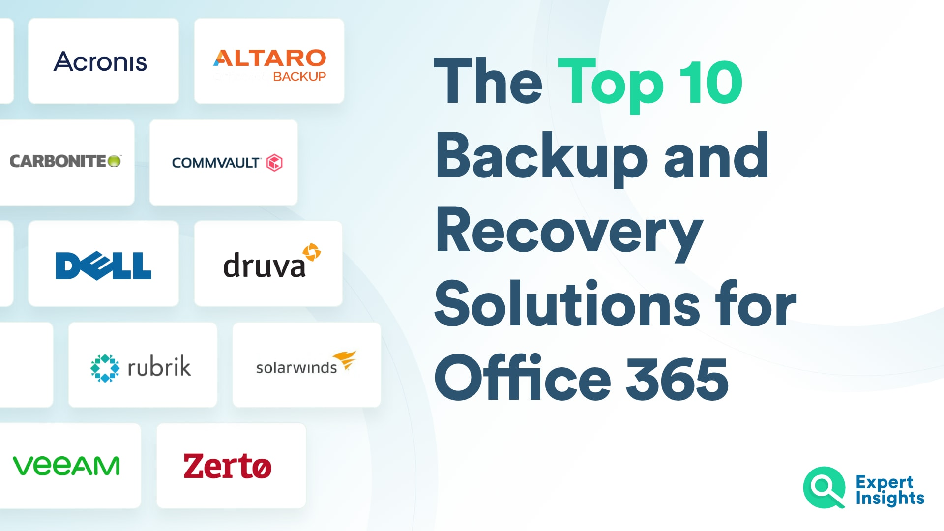 The Top Backup And Recovery Solutions For Office 365 - Expert Insights
