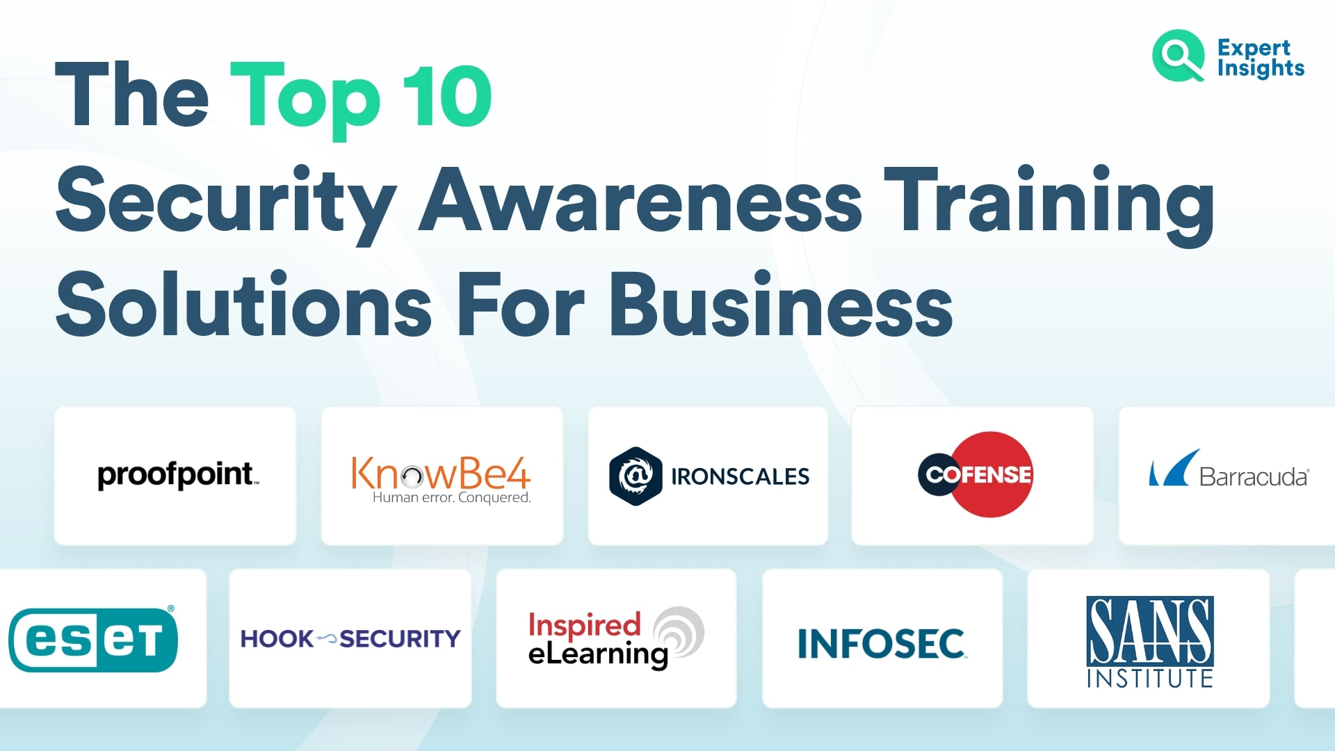 Top 10 Security Awareness Training Solutions For Business - Expert Insights