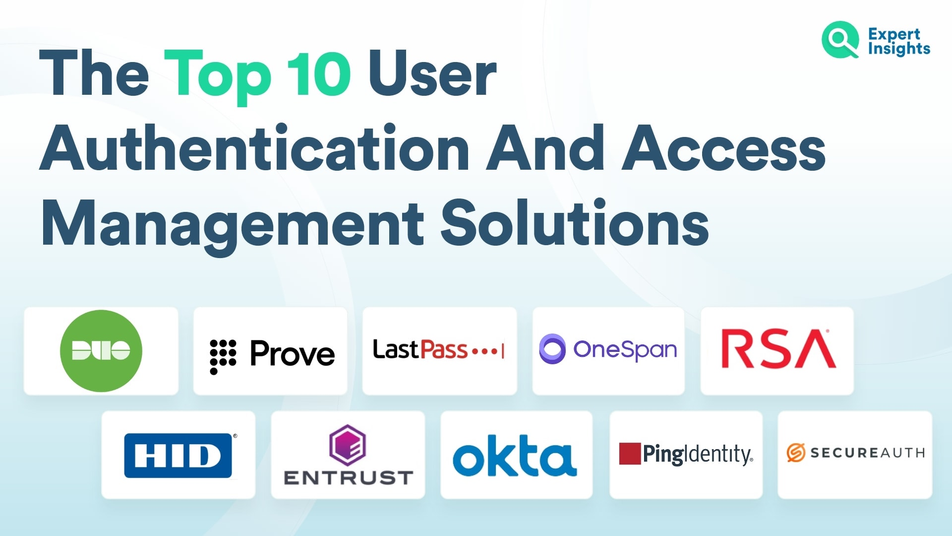 Top 10 User Authentication And Access Management Solutions
