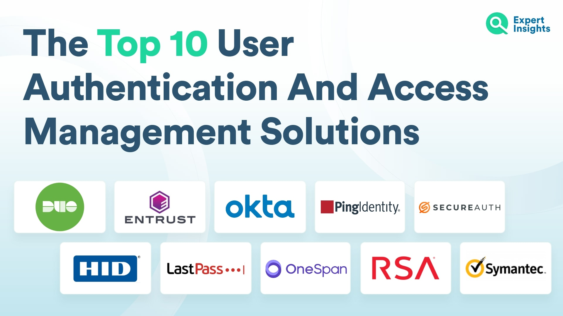 Top 10 User Authentication And Access Management Solutions - Expert Insights
