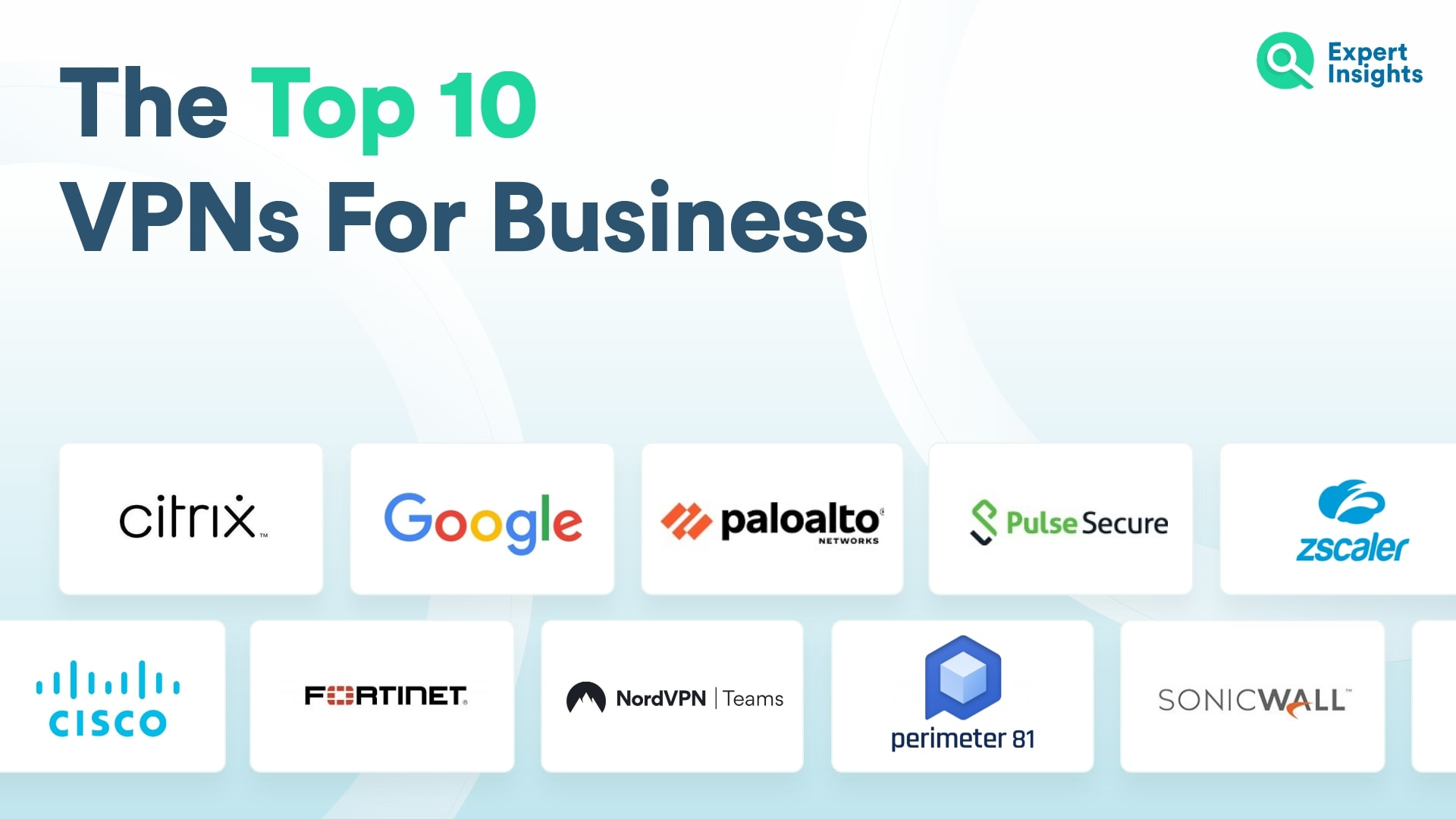 Top 10 VPNs For Business - Expert Insights