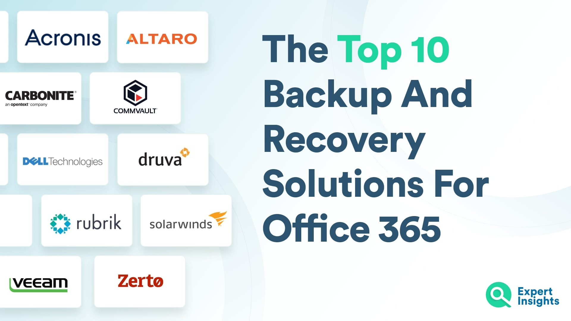 Top O365 Backup And Recovery Solutions - Expert Insights