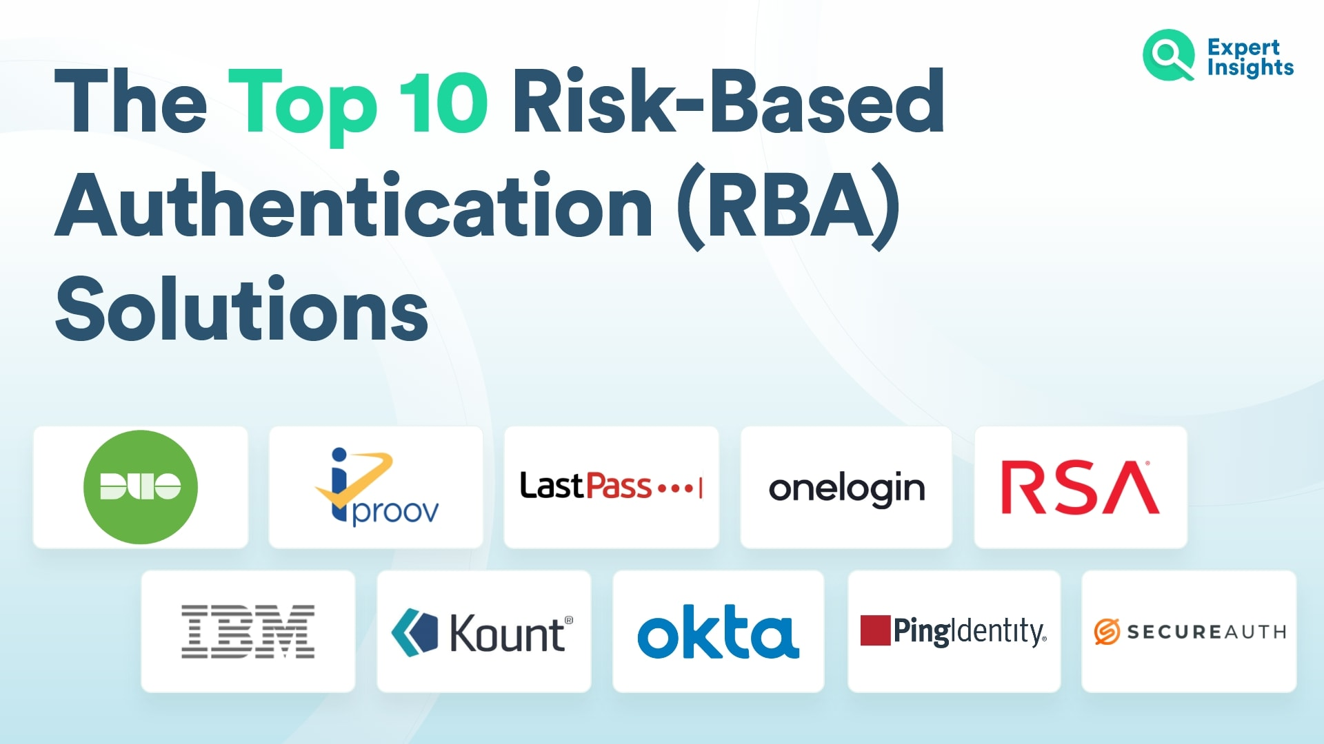 Top 10 Risk-Based Authentication (RBA) Solutions - Expert Insights