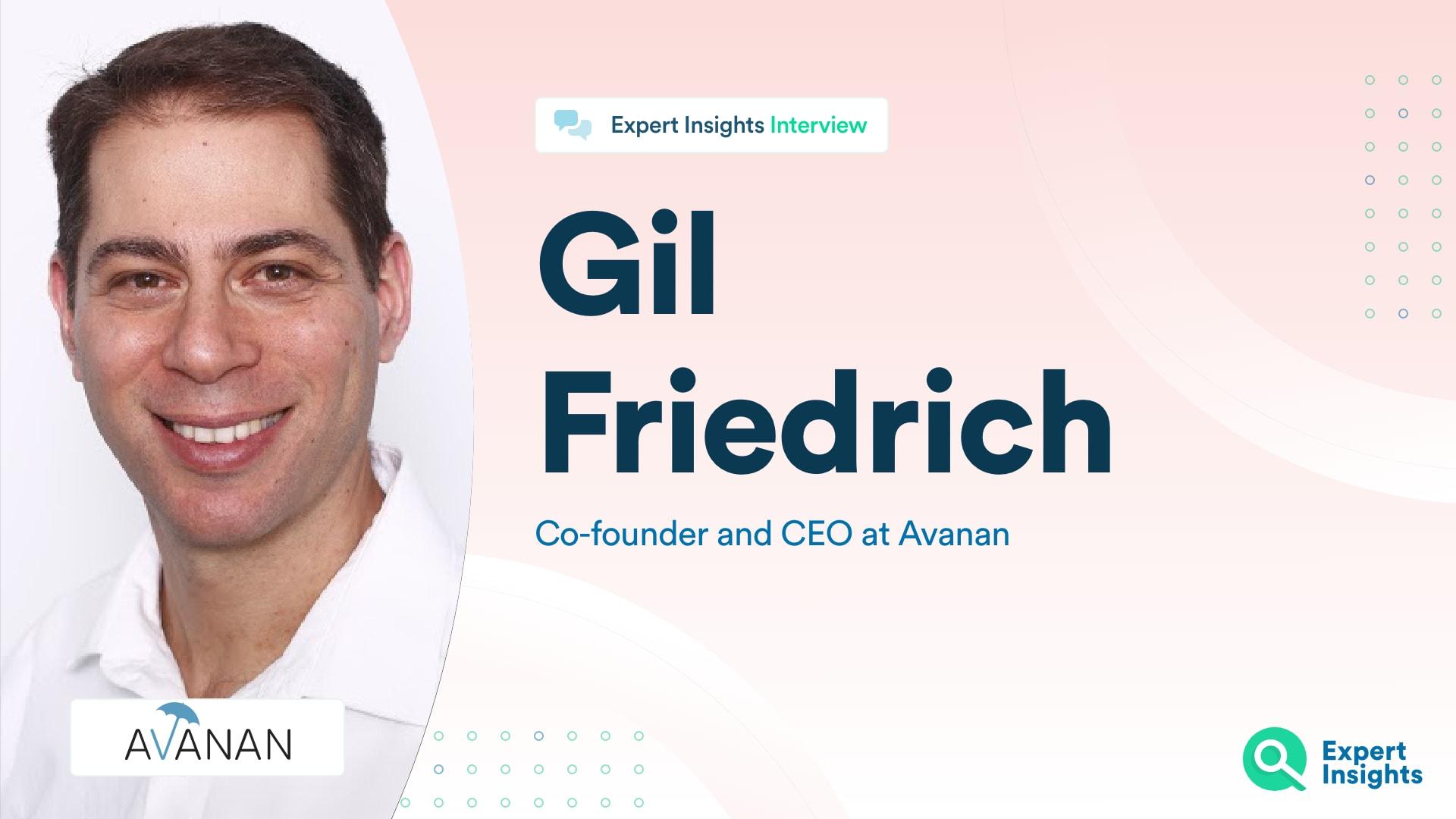 Gil Friedrich Avanan Interview