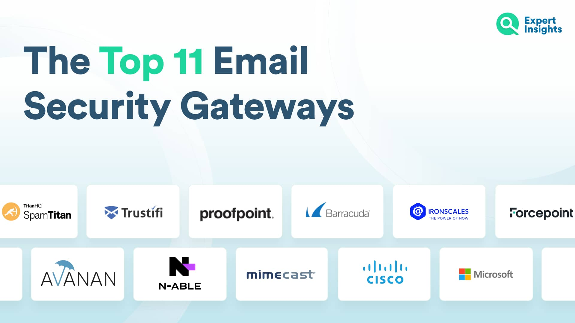 The Top 11 Best Secure Email Gateway Platforms - Expert Insights