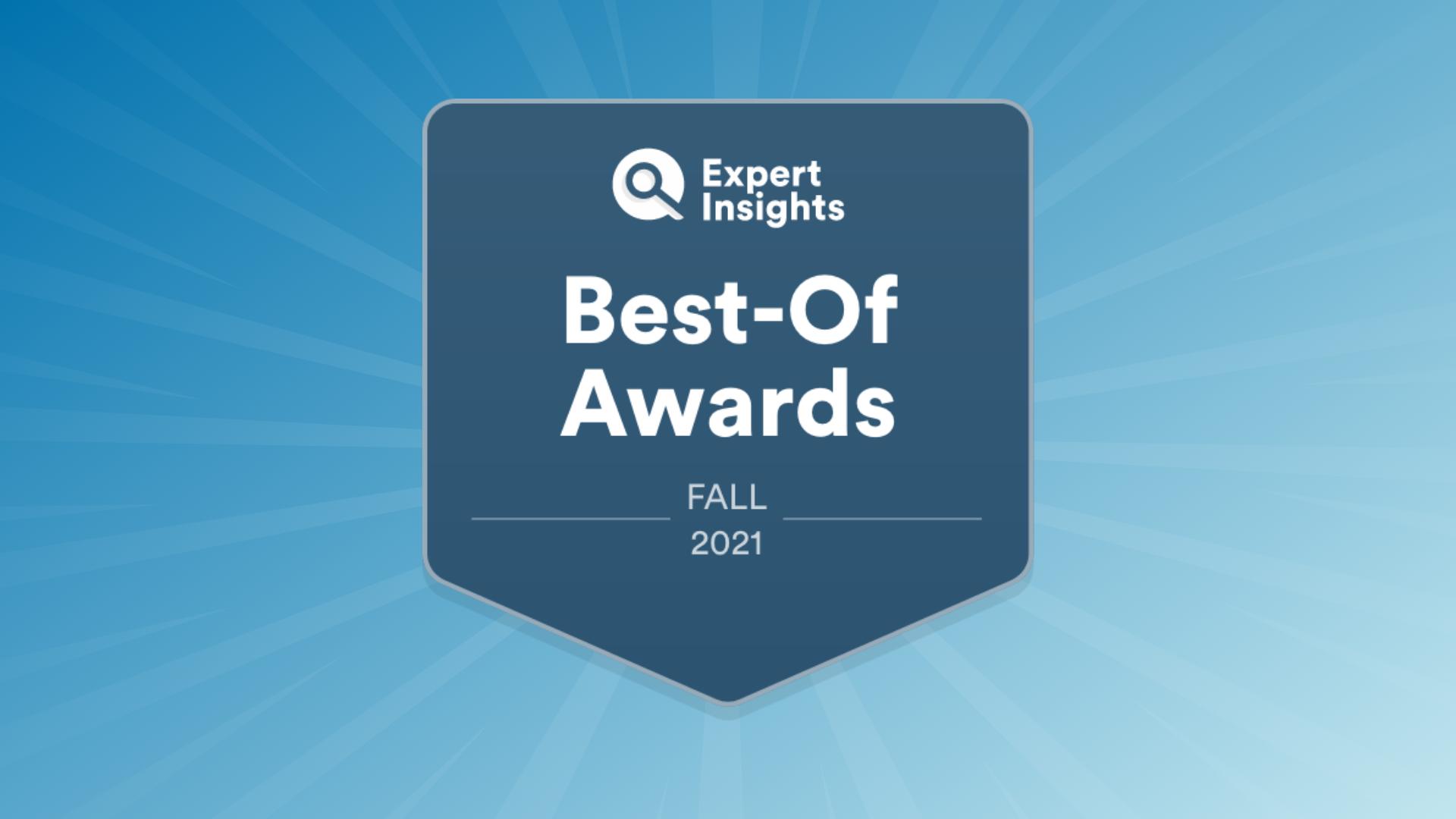 """Expert Insights Announces Fall 2021 """"Best-Of"""" Award Winners"""